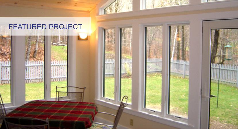 four season porch custom design vt